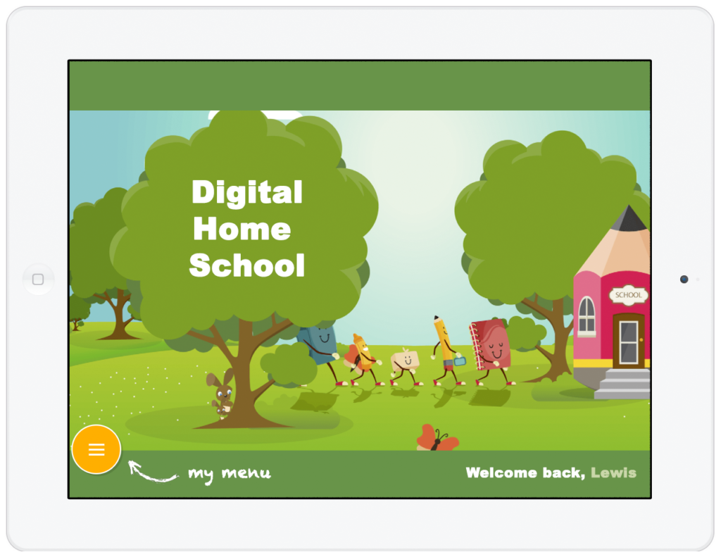 An amazing school site built with Moodle